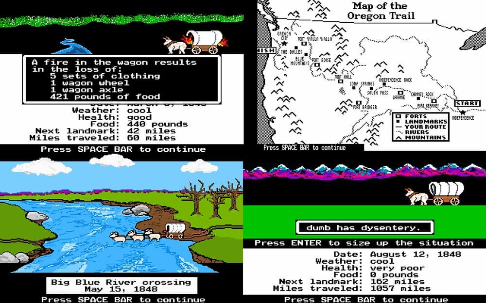 The Oregon Trail: un educativo juego de simulación y planificación