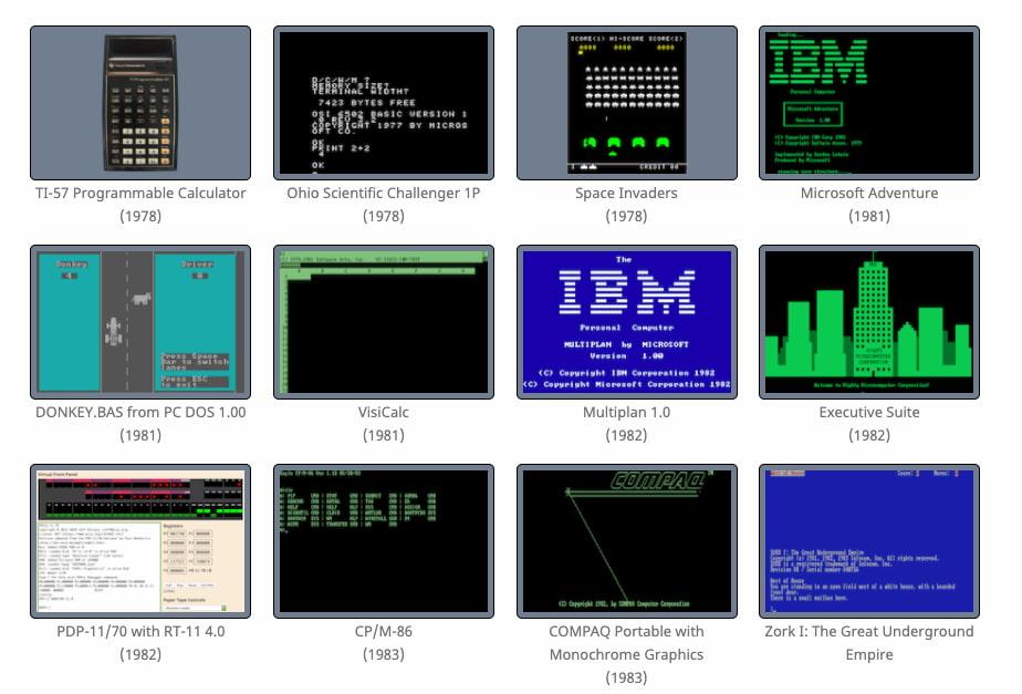 PCjs Machines