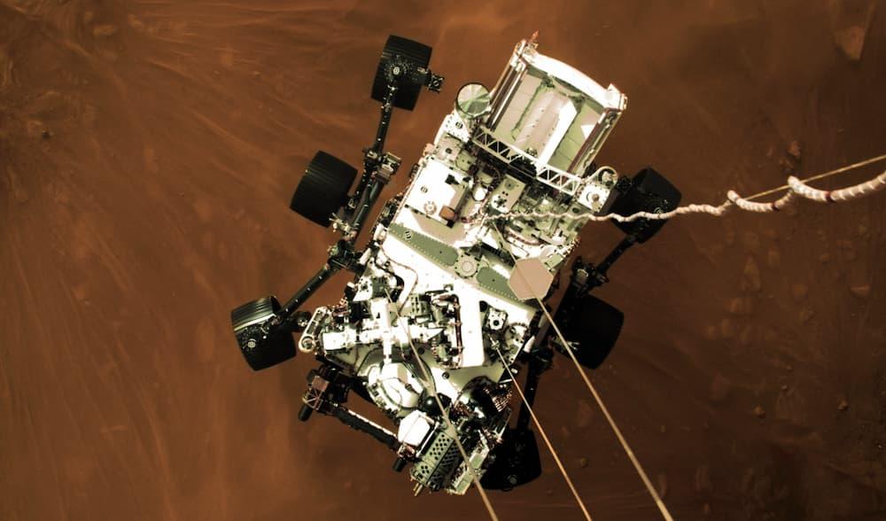 Perseverance llegando a Marte – NASA/JPL-Caltech