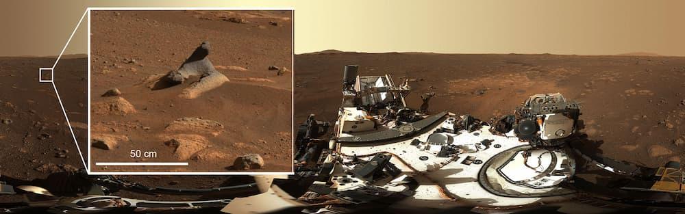 Uno de los muchos detalles visibles en el panorama – NASA/JPL-Caltech/MSSS/ASU