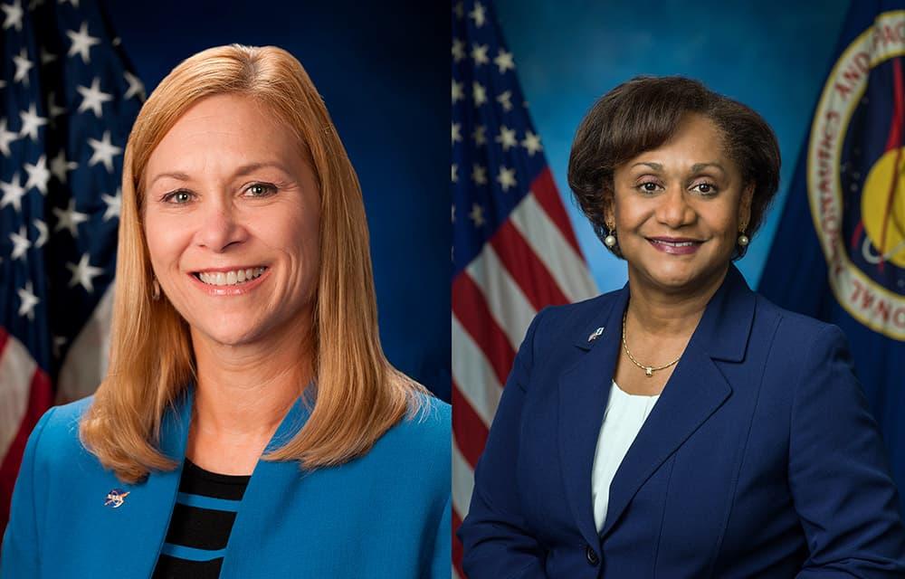 Janet Petro y Vanessa Wyche – NASA