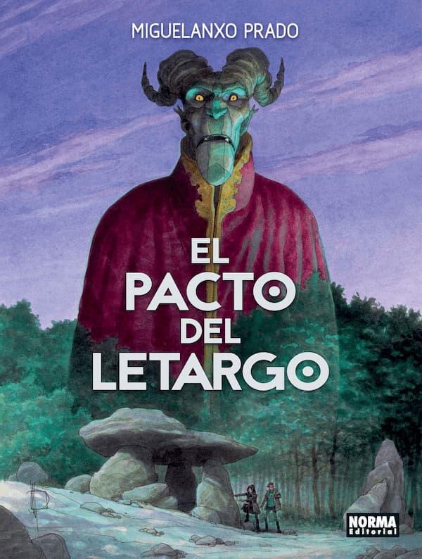 Portada de El pacto del letargo – Miguelanxo Prado / Norma Editorial