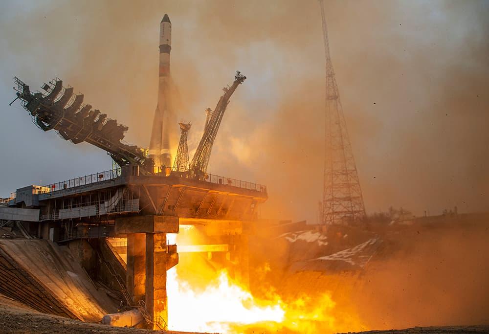 Lanzamiento de la Progress MS-16 – Roscosmos