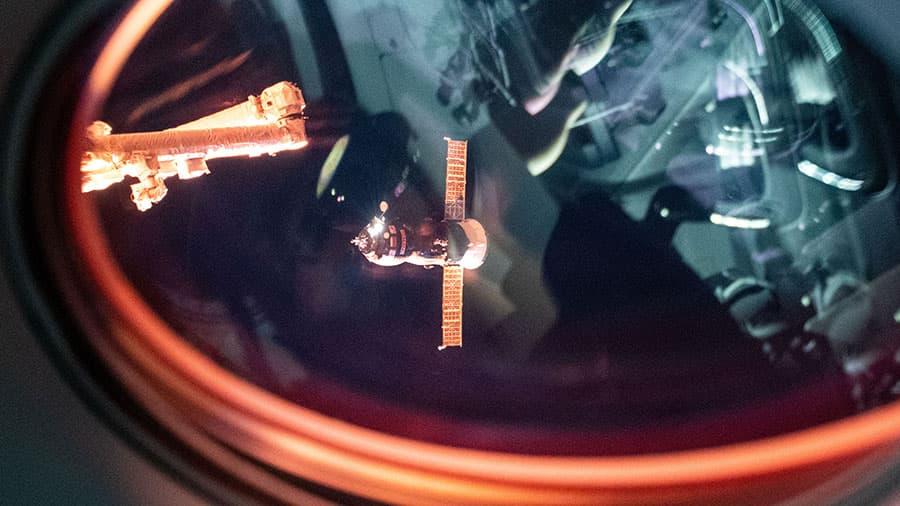 La Progress MS-17 llegando a la EEI – NASA
