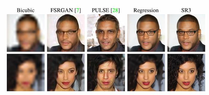 Image Super-Resolution via Iterative Refinement
