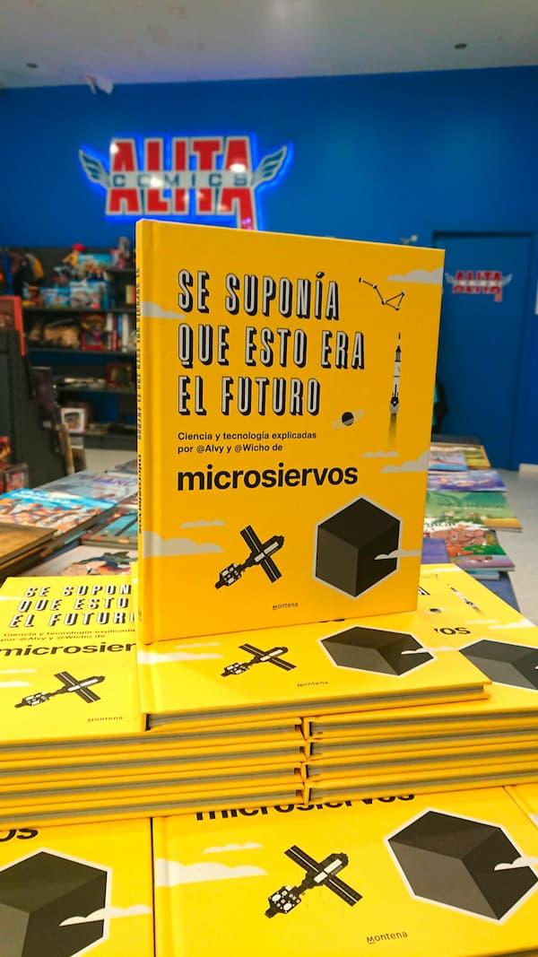 Se suponía que esto era el futuro en Alita Comics en A Coruña
