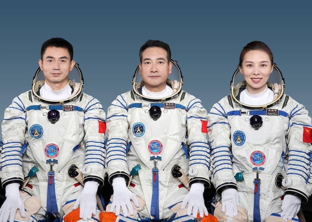 La tripulación de la Shenzhou 13 – CNSA
