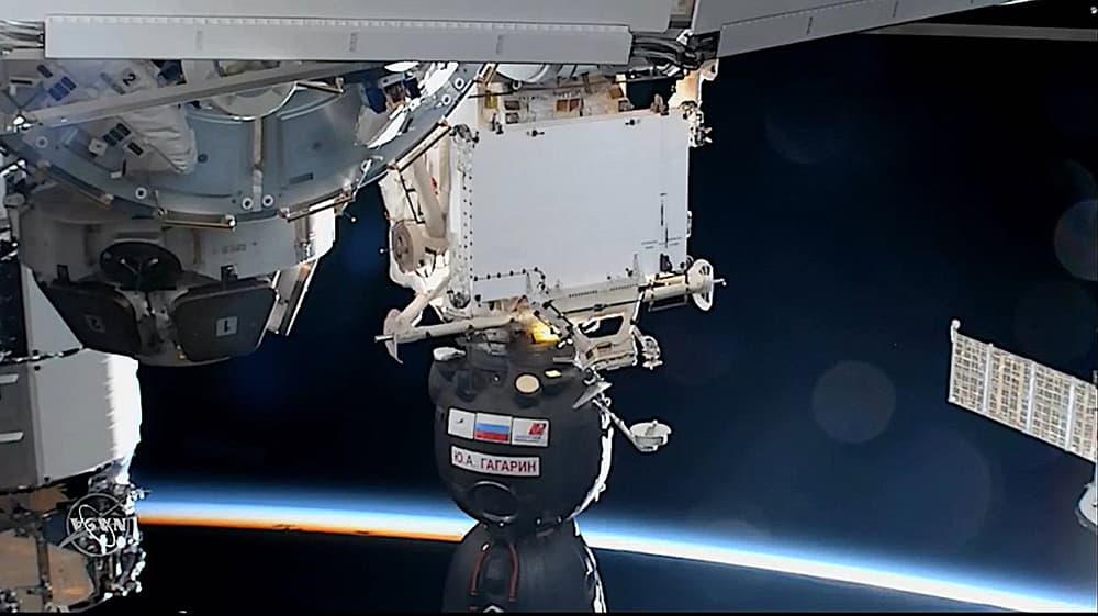 Atraque de la Soyuz MS-18 – NASA TV / ShuttleAlmanac