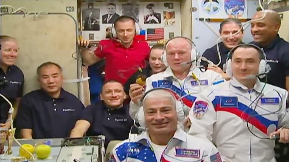 Diez a cenar – NASA TV