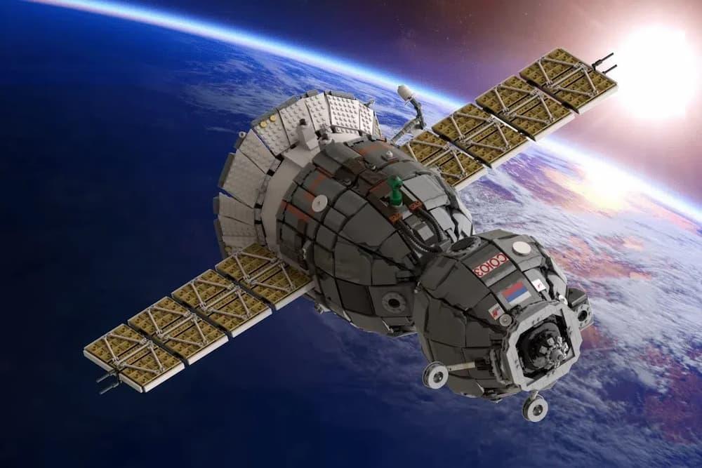 La Soyuz MS de Lego de Tom_Brick