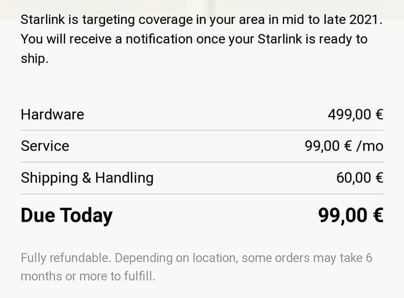 Starlink se aproxima a España: ya hay precios y están llegando los primeros correos