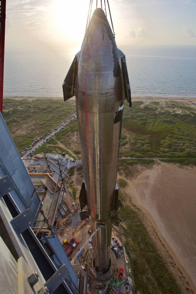 El primer Starship completo – Elon Musk / SpaceX