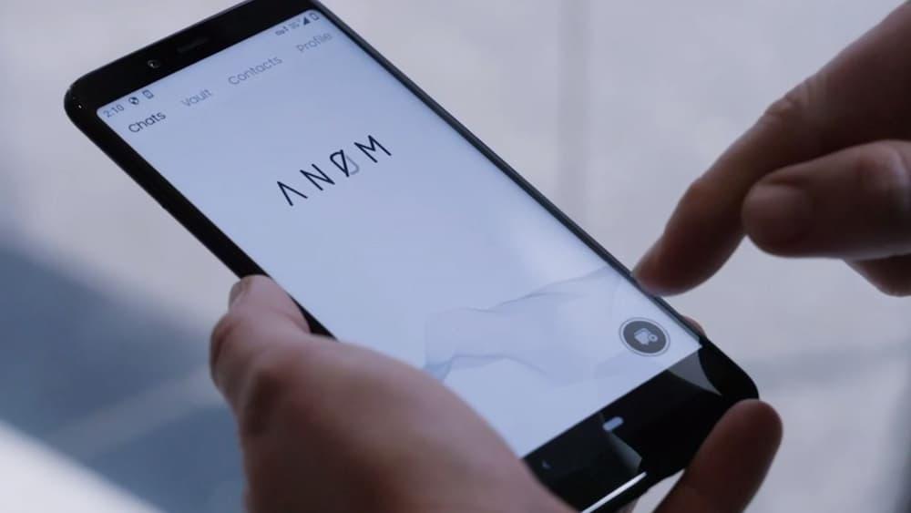 Teléfono ANOM – Policía australiana