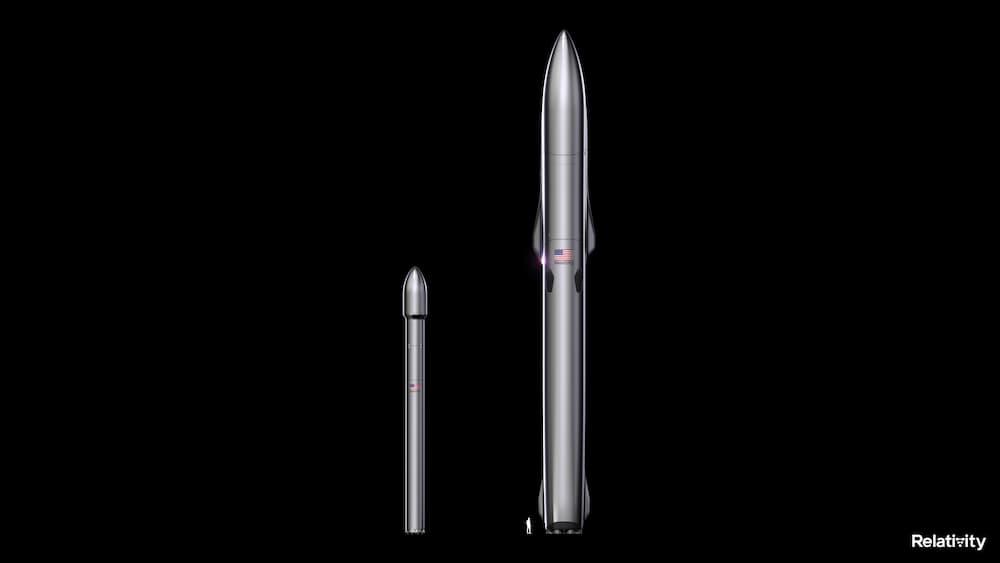 El Terran 1 y el Terran R lado a lado – Relativity Space