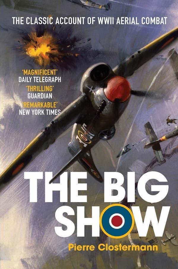 Portada de The Big Show por Pierre Clostermann
