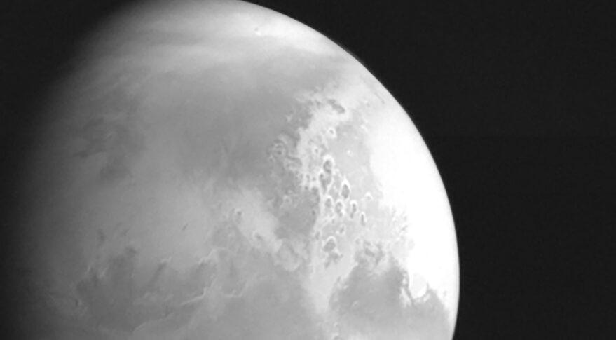 Marte visto por la Tianwen–1 desde una distancia de 2,2 millones de kilómetros – CNSA/PEC