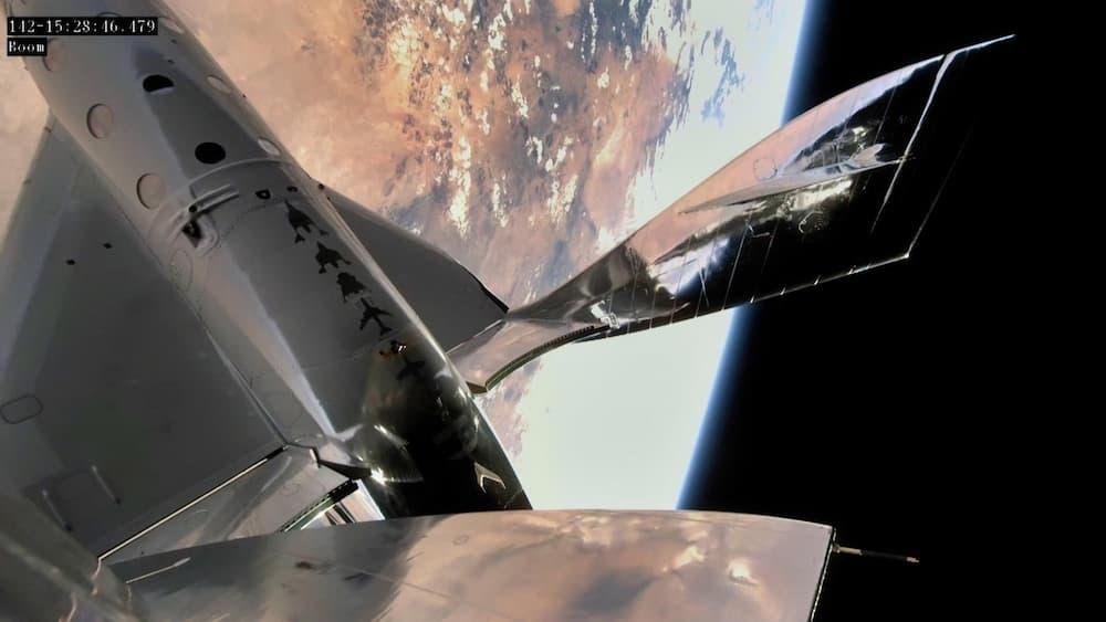 El VSS Unity en su tercer vuelo al espacio – Virgin Galactic