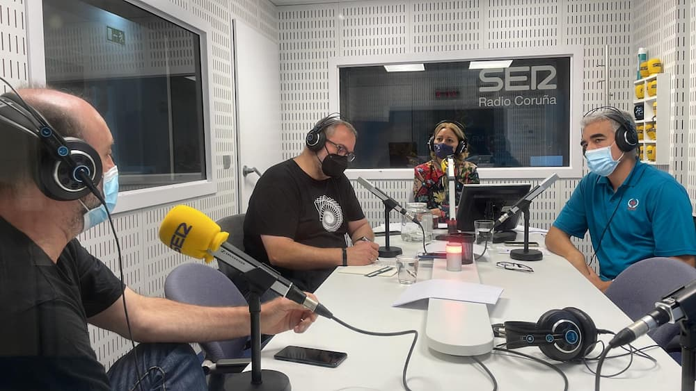 En el estudio – Radio Coruña