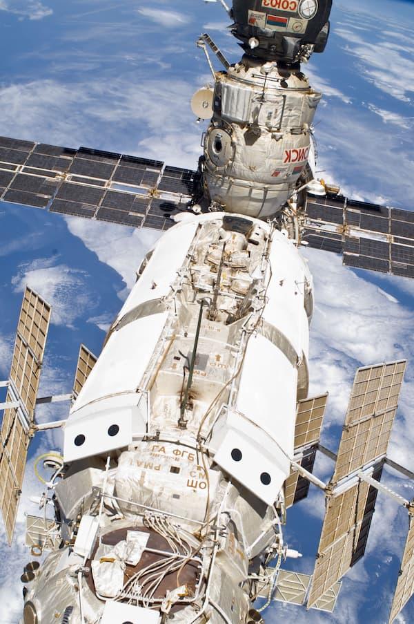 Zarya en primer plano – NASA