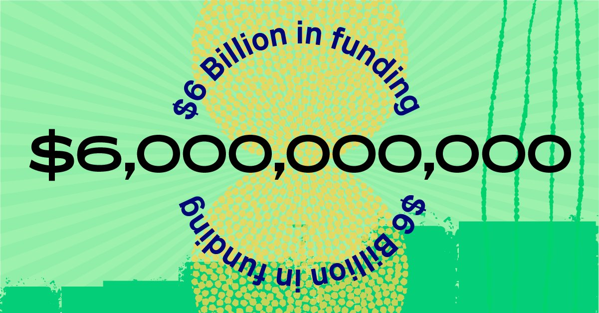 KickStarter / 6.000 millones de dólares