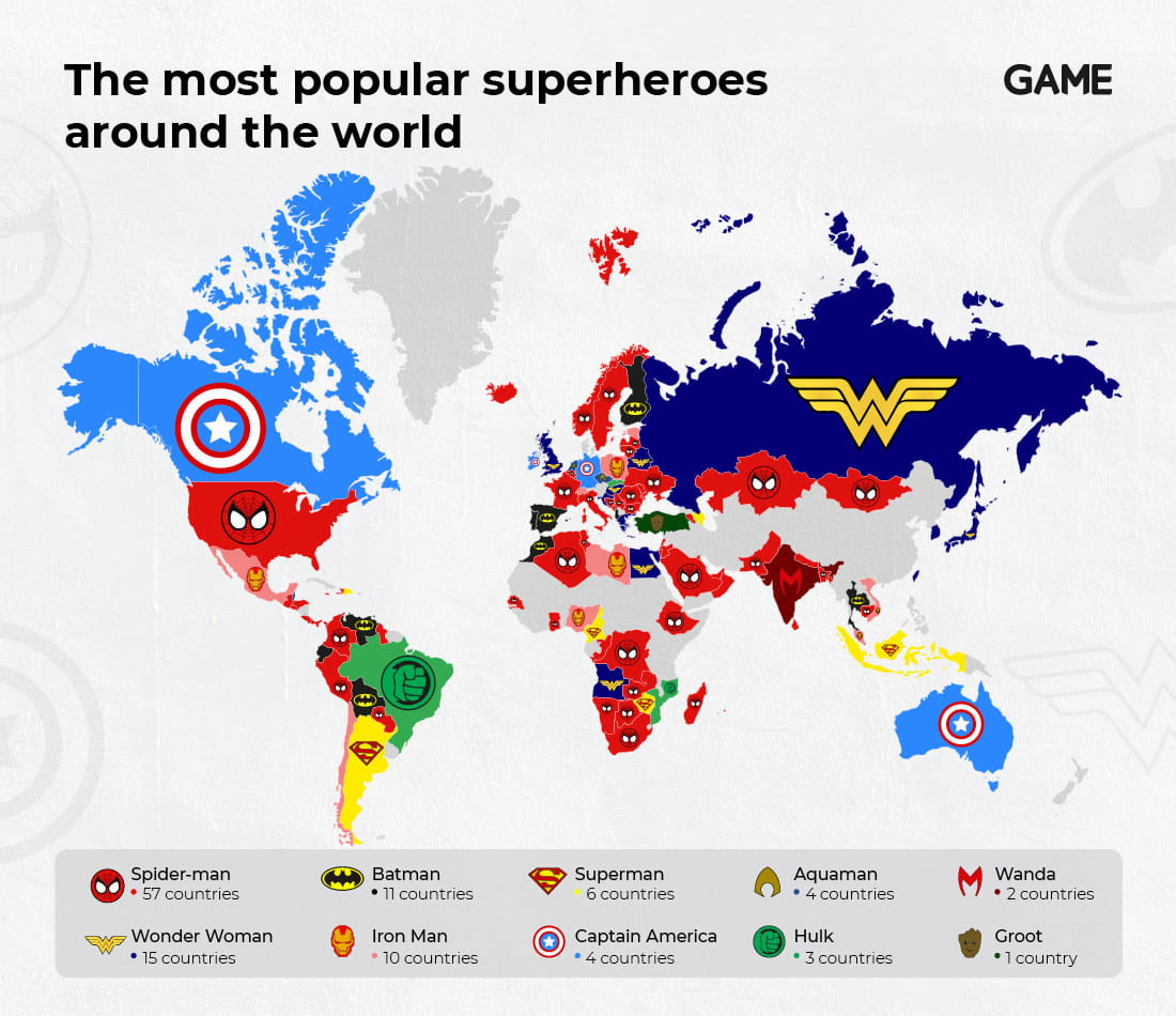 The world's favourite superhero universe? Marvel vs DC | GAME Blog