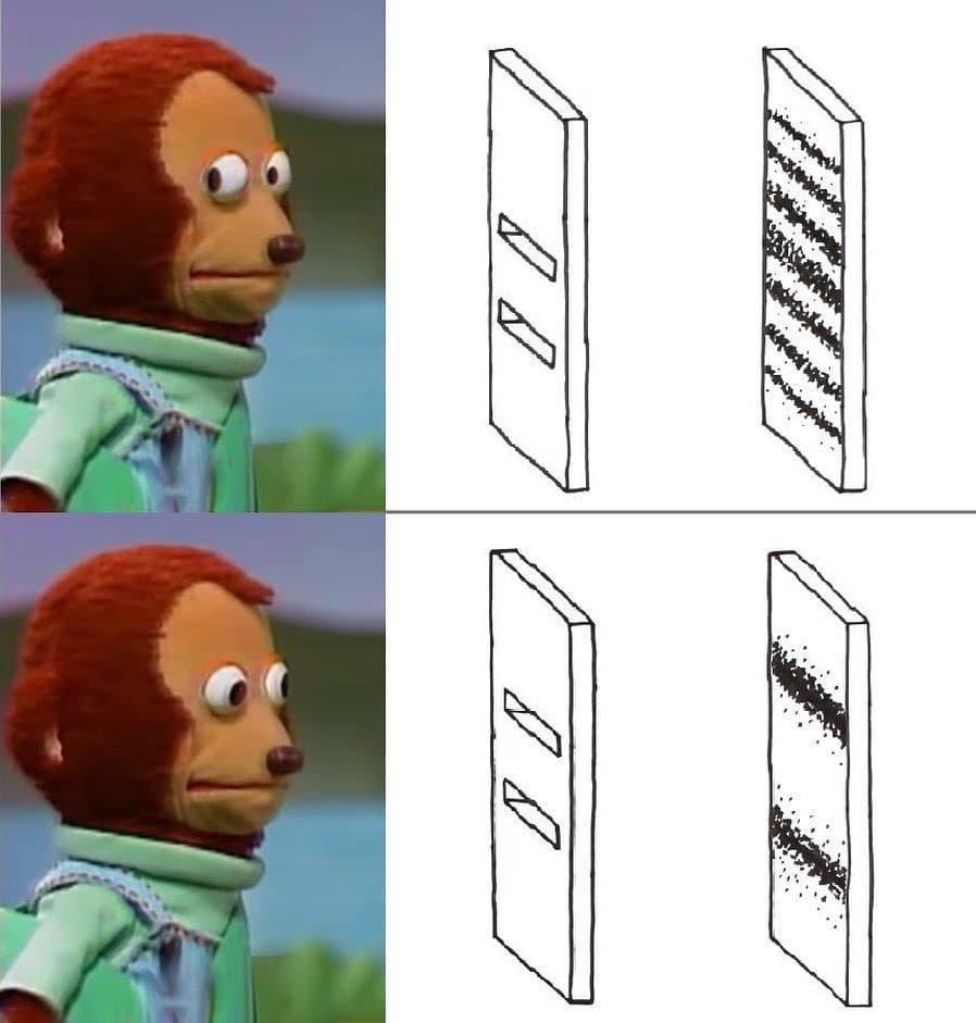 Meme de la doble rendija