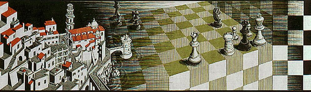 M.C. Escher, Metamorphose II