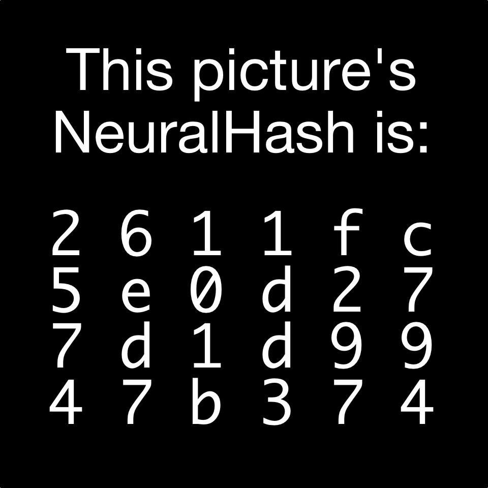 neuralhash 2611fc