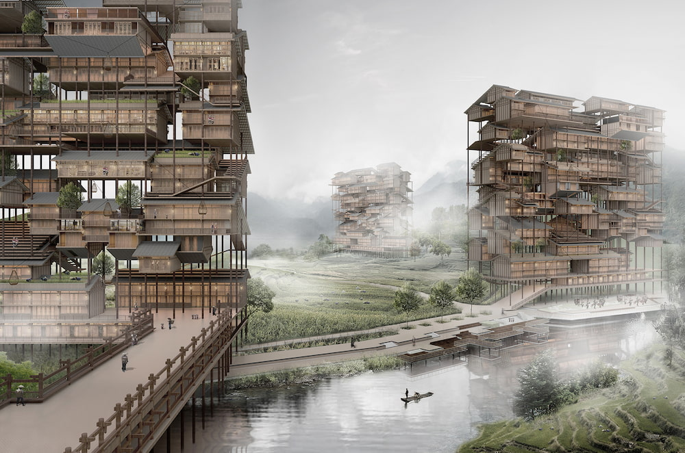 Rascacielos / Kong, Zhang, Sun