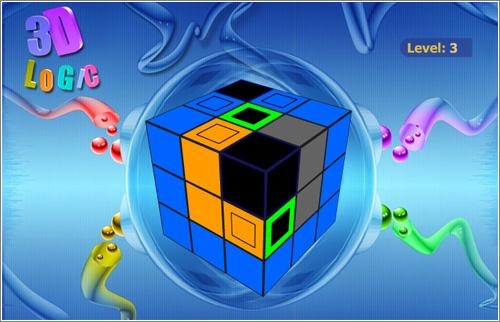 3-D Logic, un puzzle topológico de colores