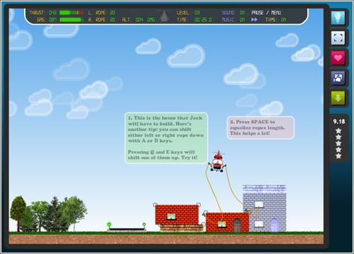Air Transporter: un entretenido juego de habilidad