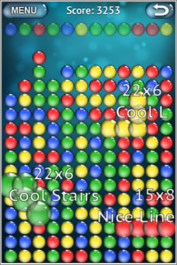 Bubble Explode: algo tipo Tetris + burbujitas que explotan = gran vicio