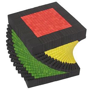 Un cubo de Rubik de 17×17×17