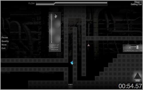 Exit Path: un juego de plataformas tan minimalista como complejo