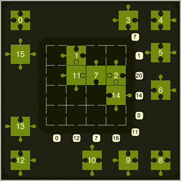 Magic-Square-Puzzle