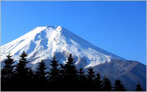 Más de 3.000 metros de altura...¿Cómo moverías el monte Fuji? / Foto (CC) Tanaka Juuyoh