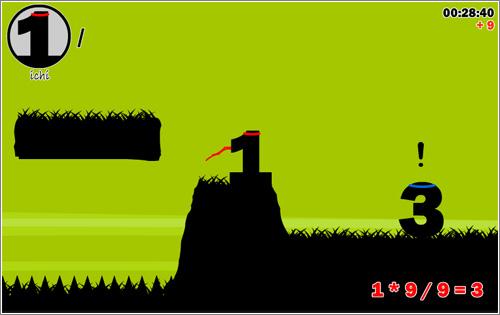 Number Ninjas: un juego de plataformas con matemáticas básicas