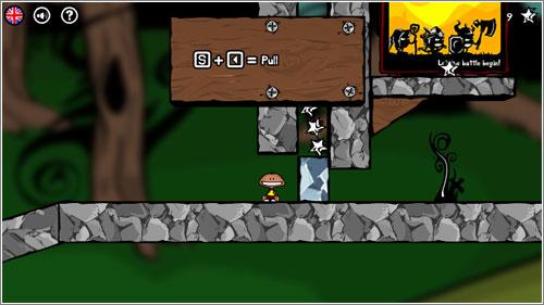 Ozee: un juego de plataformas y  lógica con física realista