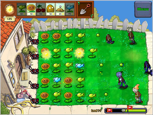 Plants vs Zombies Ios