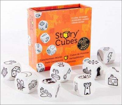 Rory's Story Cubes: diez millones de historias para imaginar