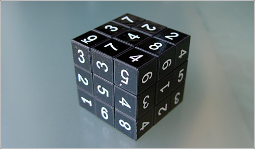Sodoku Cube: más difícil de lo que parece