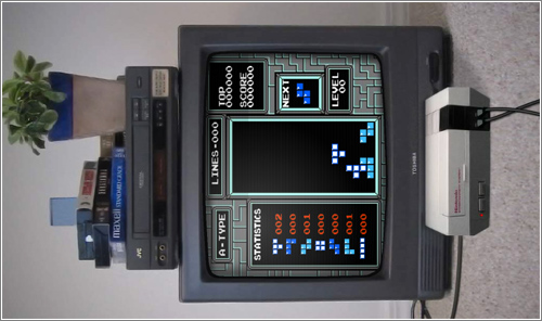 Tetris en primera persona