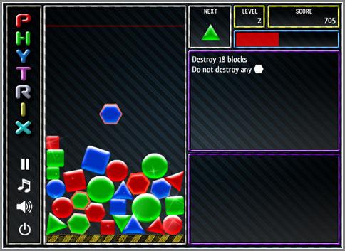 Phytrix: un Tetris con polígonos y simulación física
