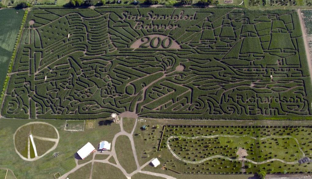 The Star Spangled Banner Labyrinth / Quartz