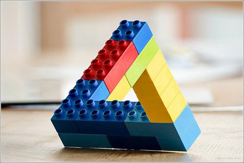 Lego-Penrose-Impossible-Triangle