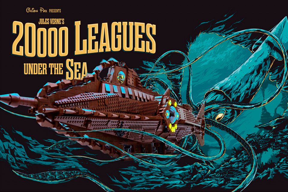 Lego Nautilus: 20 000 Leagues Under The Sea by Orion Pax