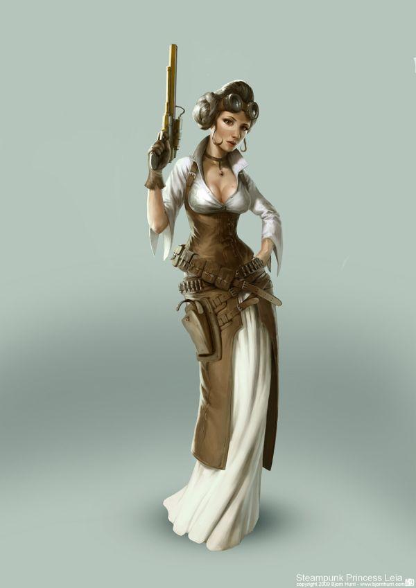 Leia steampunk
