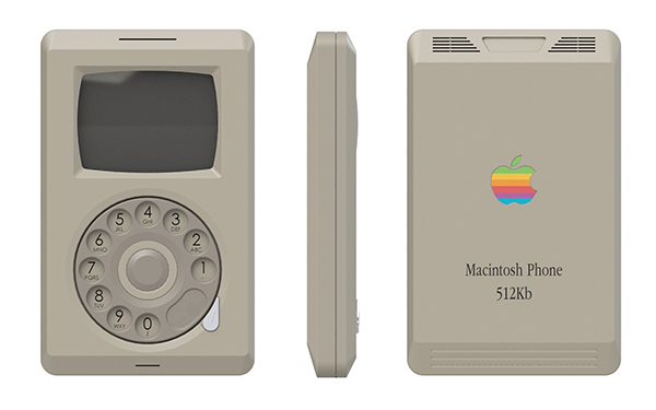 Mac iPhone / Pierre Cerveau