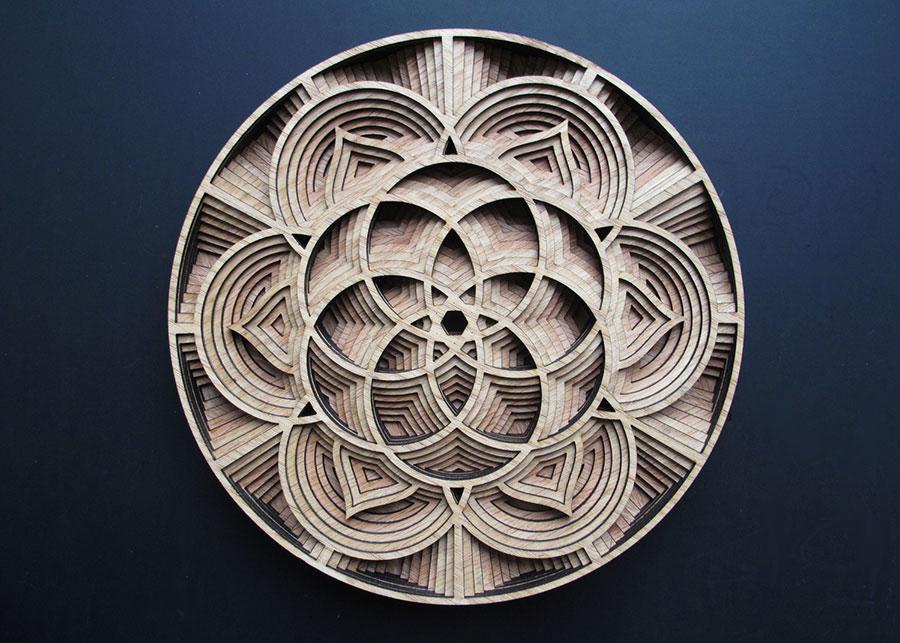 Mandala Circular / Gabriel Schama