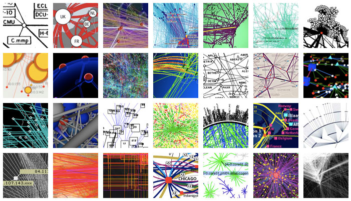Mapas: Visualcomplexity